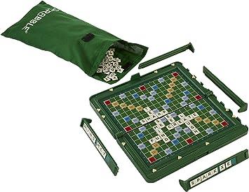 SCRABBLE - Juguete de Viaje, de 2 a 4 Jugadores (Mattel Y9742) [Importado de Inglaterra]: Amazon.es: Juguetes y juegos