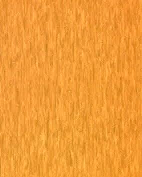Papier Peint Faux Uni De Bonne Humeur Edem 118 21 Orange Jaune