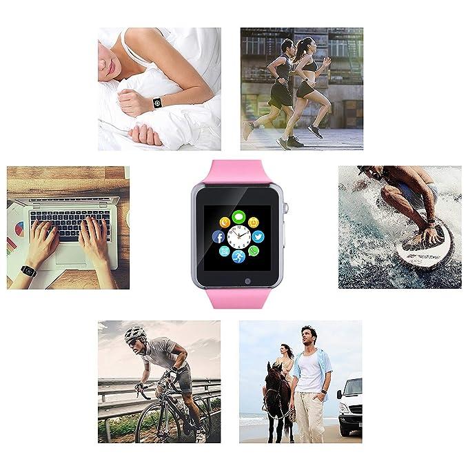 Amazon.com: 321OU Reloj inteligente con pantalla táctil ...