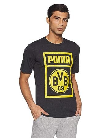 PUMA Herren T-Shirt BVB Shoe Tag Tee
