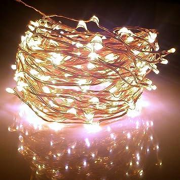 Amazon.com : Fairy Lights XX-long 60 ft / 360 Leds. For Room ...