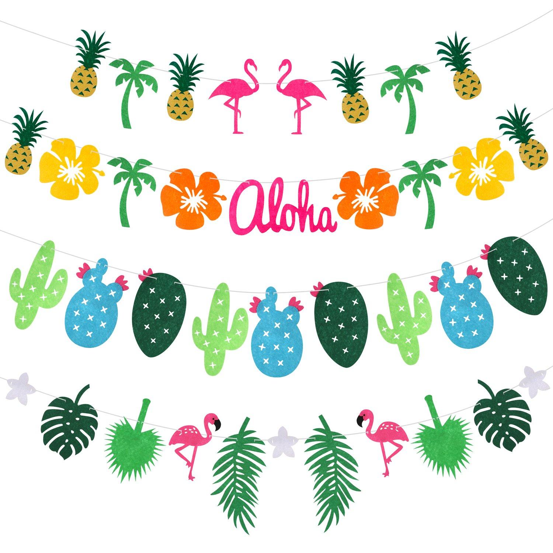 partito di famiglia Party Banner Decorazioni Feste Hawaii Striscioni Festival Luau Spiaggia Party Decorazione Forniture Rymall Addobbi Feste Compleanno Striscione