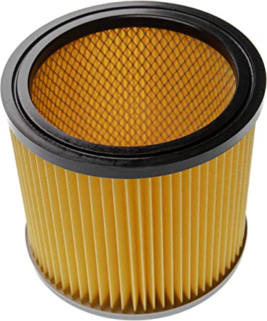 vhbw Filtro de Aspirador Compatible con Bosch Gas 12-30 F Professional, Pas 1000, Pas 11-25, Pas 11-25 F, Pas 12-50 F Aspirador; Filtro Plisado: Amazon.es: Hogar