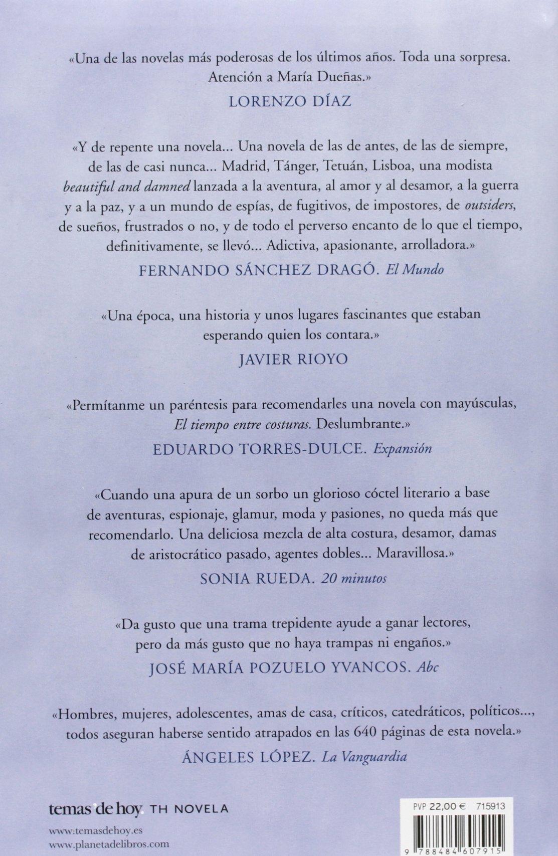 Pack El tiempo entre costuras + bloc de notas serie TH Novela ...