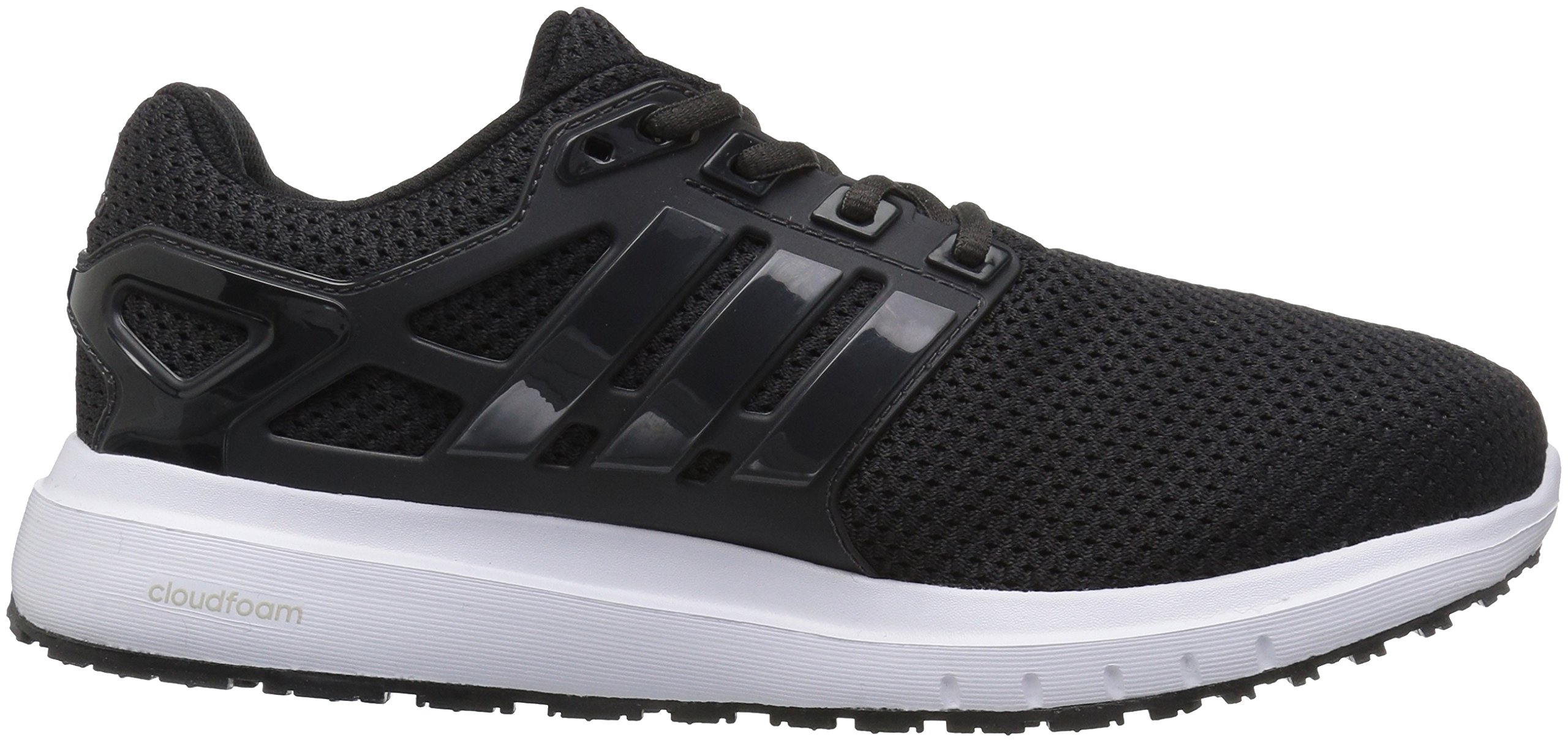 adidas  Men's Energy Cloud Wide m Running Shoe, BLACK/UTILITY BLACK/WHITE, 10.5 2E US by adidas (Image #7)