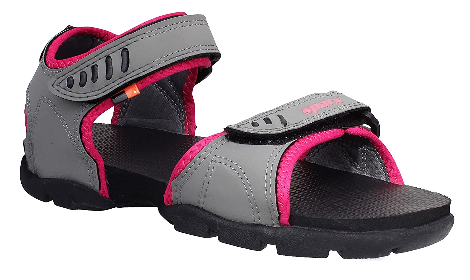 Sparx Women SS-A101 Grey Pink Floaters