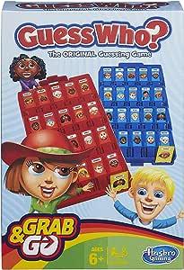 Hasbro Gaming Guess Who? Grab and Go Game
