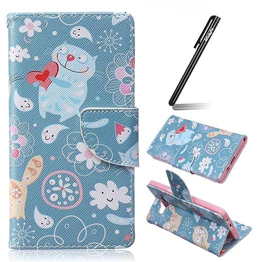 9 opinioni per Ukayfe Custodia portafoglio / wallet / libro in pelle per Samsung Galaxy A5 5.0