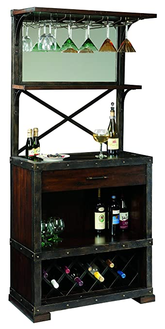 Howard Miller Red Mountain Wine And Bar Storage Cabinet