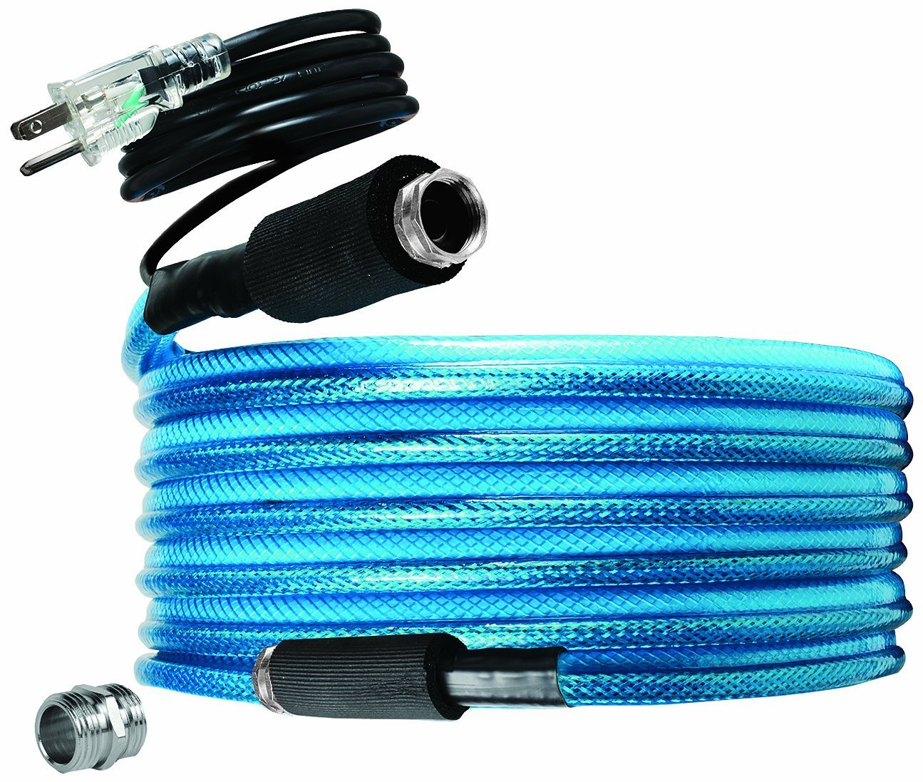 "Camco 25ft TastePURE Heated Drinking Water Hose - Lead and BPA Free, Reinforced for Maximum Kink Resistance, 1/2"" Inner Diameter (22922)"