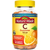 Nature Made Vitamin C Gummies 250 mg, 80 Count, For Immune Support, Antioxidant Support, Collagen Support for Skin…