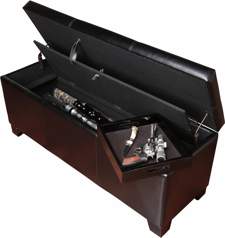 American Furniture Classics Gun Concealment Storage Bench