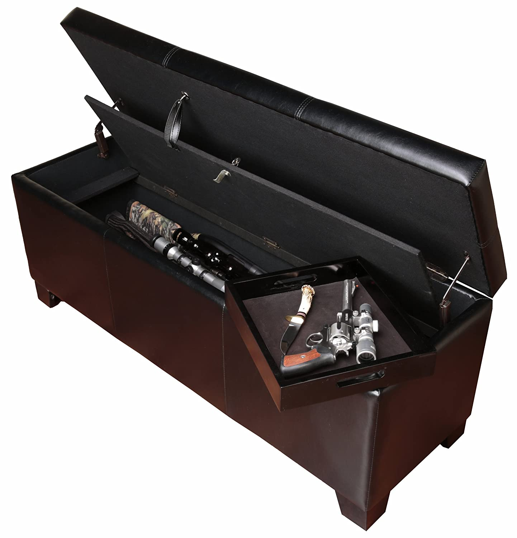 gun furniture compartment hidden with plans me storage