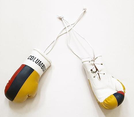 Columbia bandera Mini guantes de boxeo un par para colgar de la novedad espejo de coches