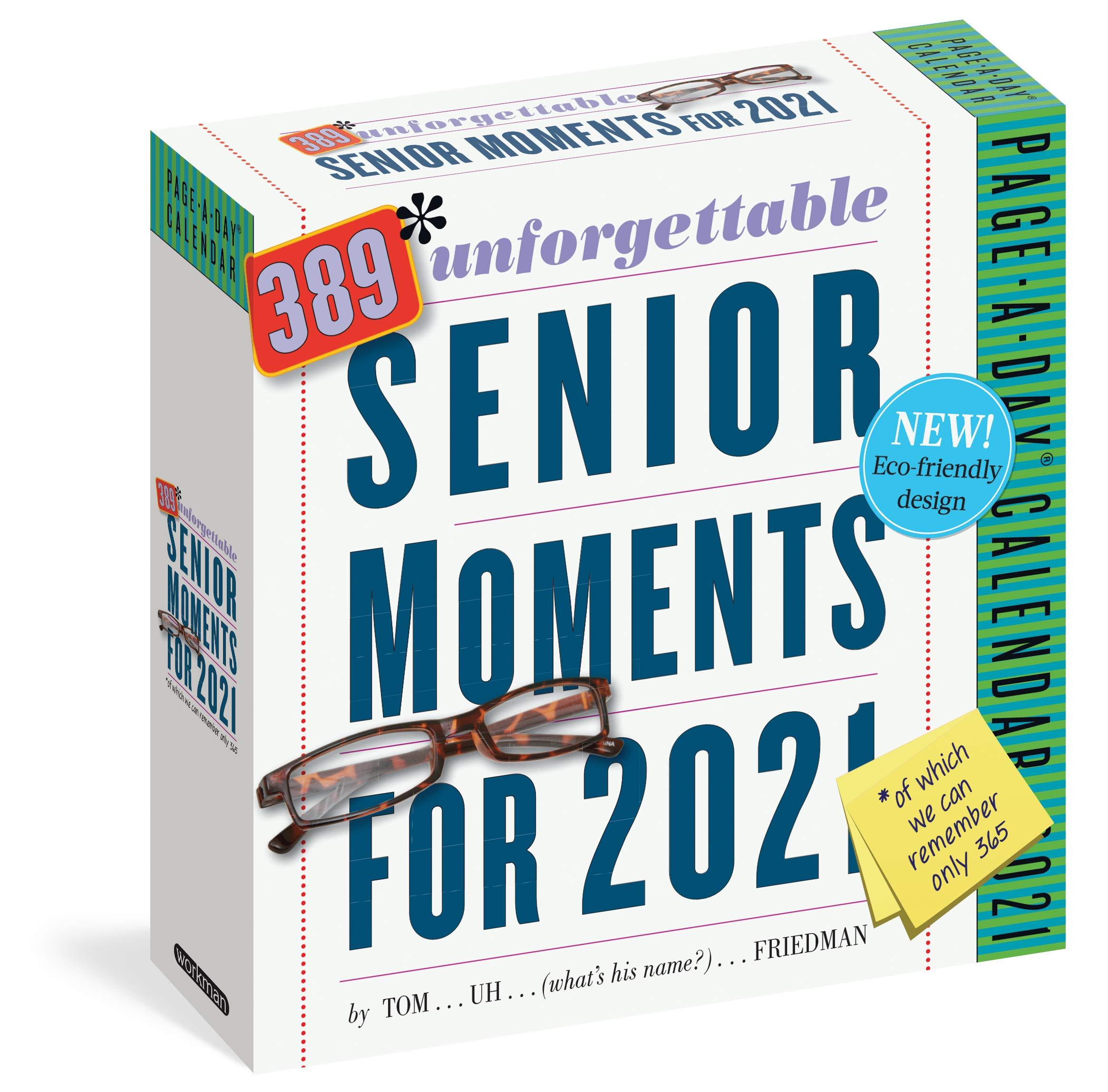 389 Unforgettable Senior Moments Page A Day Calendar 2021