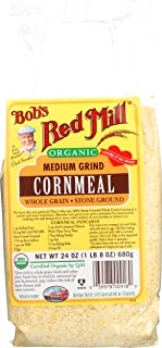 product image for Bob's Red Mill, Organic Medium Grind Cornmeal, 24 oz