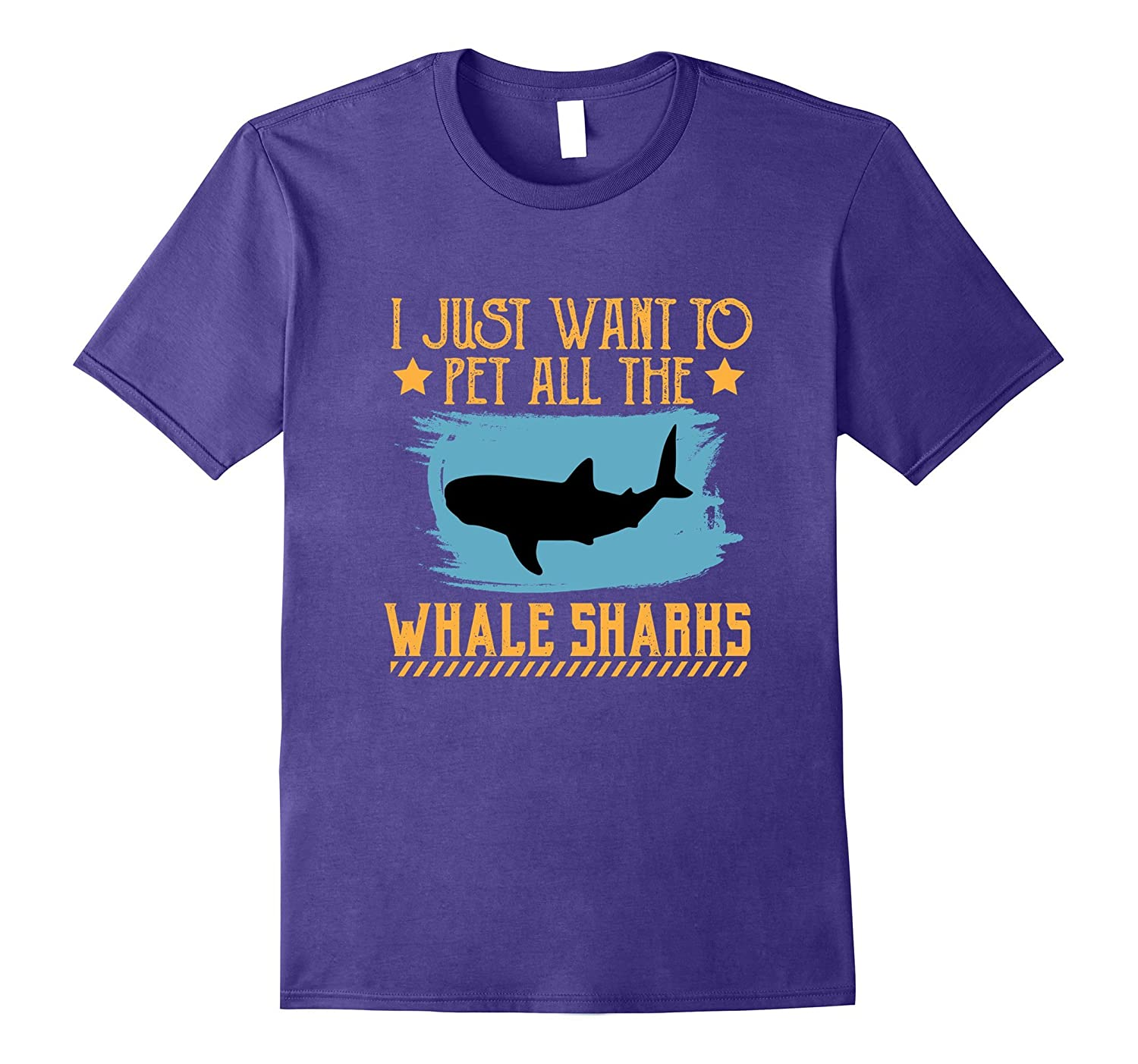 I JUST WANT TO PET ALL THE WHALE SHARKS RHINCODONTIDAE SHIRT-T-Shirt
