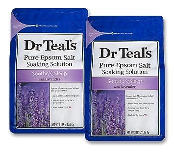 Dr Teal's Lavendar Epsom Salt Soak (2 Bags)