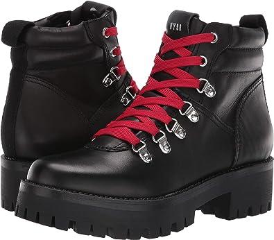a215a5b785c Steve Madden Women s Buzzer Hiker Boot Black 6 ...