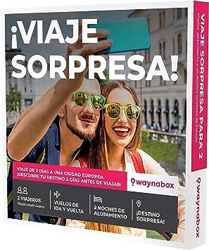 Caja Regalo - Viaje Sorpresa para Dos - Vuelos + 2 Noches en una ...