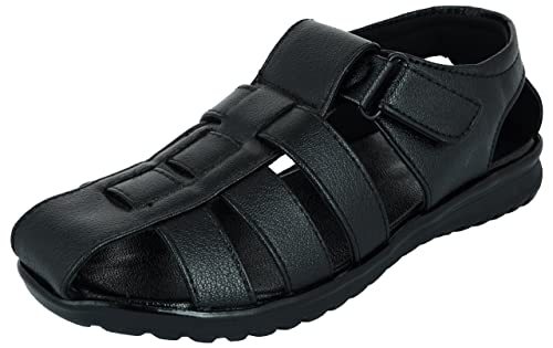 Mens, Synthetic Leather Sandals