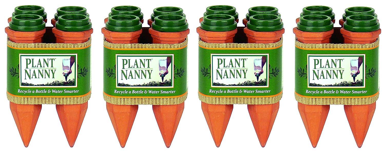 Plant Nanny 6053 Juego de 4 estacas de plástico para Reciclar ...