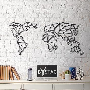 Decoration Murale Accessoires 100 Metal D Epaisseur 0 3 Cm 59 9 X