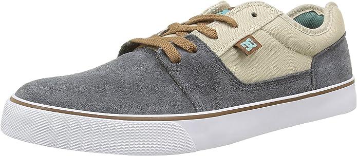DC Shoes Tonik Sneakers Skateboardschuhe Herren Damen Unisex Erwachsene Grau/Beige