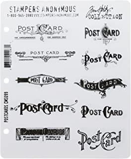 amazon com penny black 1369l postcard mounted rubber stamp 5 5 by