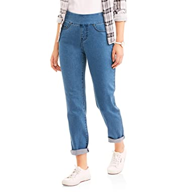 Where are womens white stag pull on jeans?