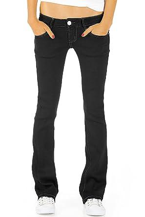 a3a5fb41ce9e bestyledberlin Damen Jeans hüftige Jeanshosen, Bootcutjeans Low Rise  Hüftjeans Stretch Hose j46kw  Amazon.de  Bekleidung