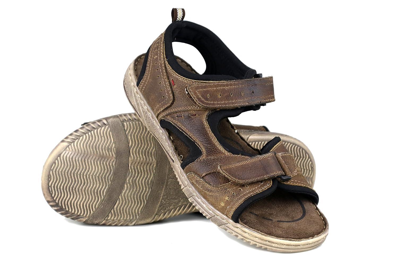 Zerimar Herren Sandalen   Trekking Sandalen für Herren   Sandalen Mann Wandern   Herren Ledersandalen   Männer Sommer Sandalen  | Neuheit