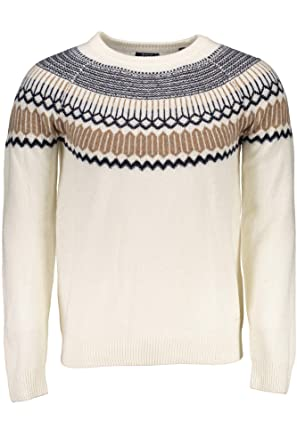 636881707 Gant Men s Fairisle Holiday Crew Sweater Jumper  Amazon.co.uk  Clothing