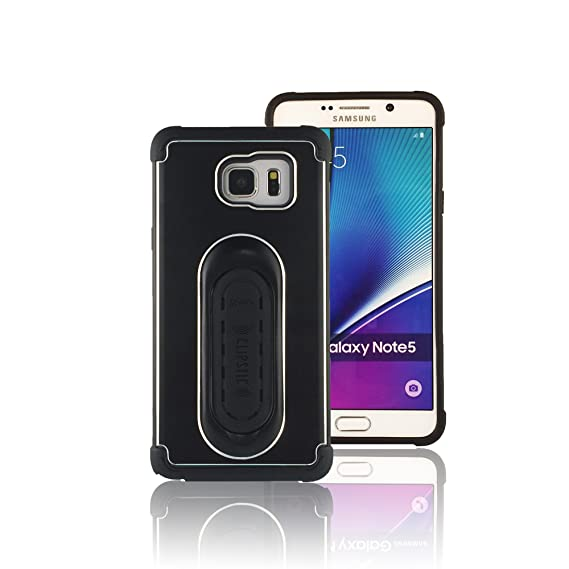 detailed look b15a8 8f334 5-in-1 Scooch Clipstic Pro Case for Samsung Galaxy Note 5 (Black)