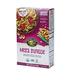 Nature's Path Mesa Sunrise Cereal, Healthy, Organic, Gluten-Free, 10.6 Ounce (Pack of 6)