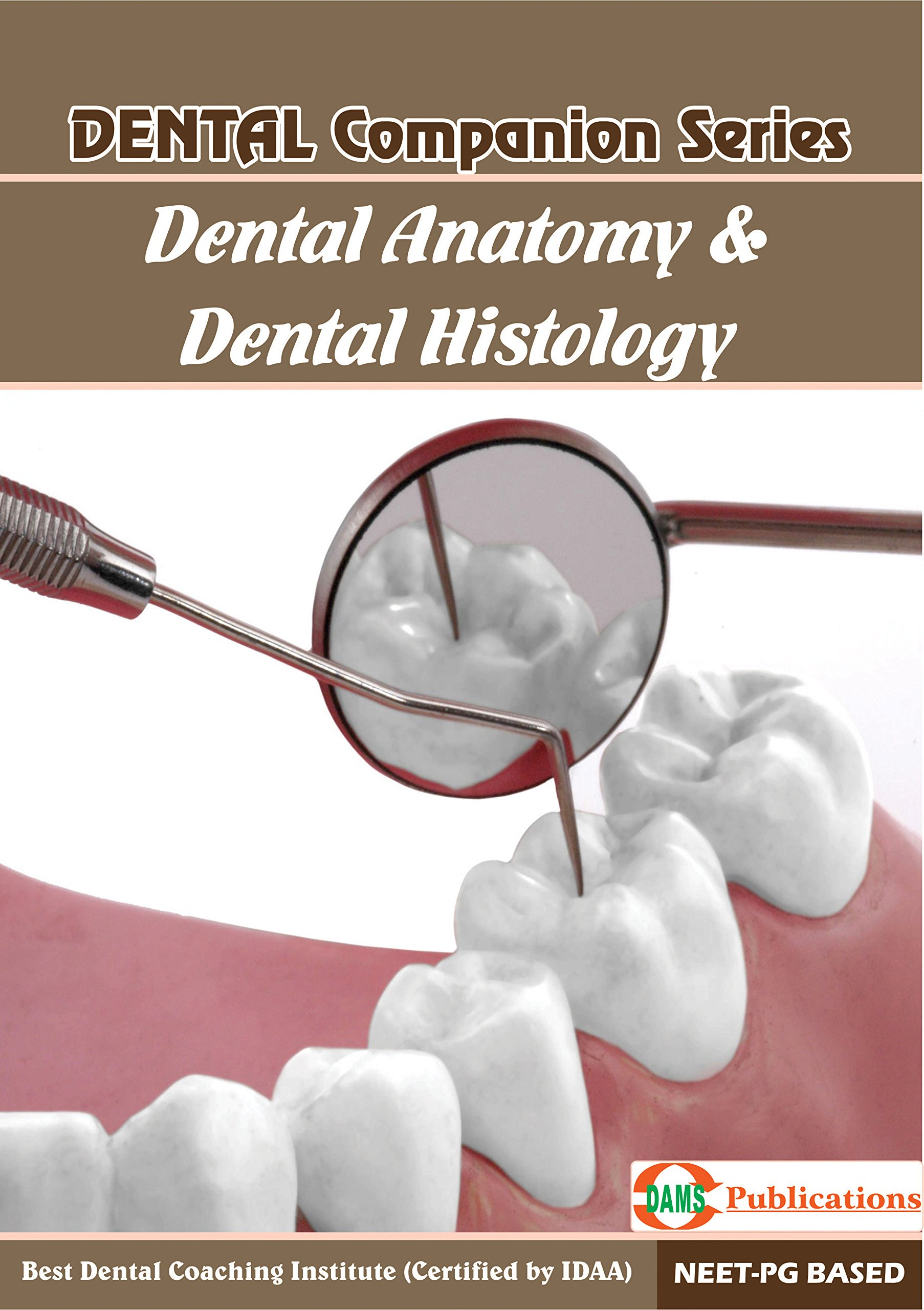 Buy Dams Dental Companion Series Dental Anatomy Dental Histology