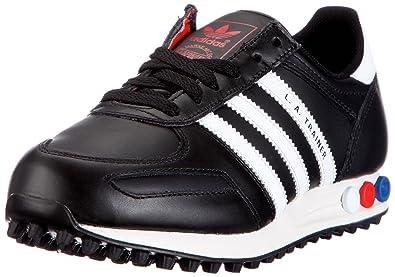 promo code 3fb5f a84af adidas Originals LA TRAINER M V22816, Unisex - Erwachsene Sneaker, Schwarz  (BLACK1
