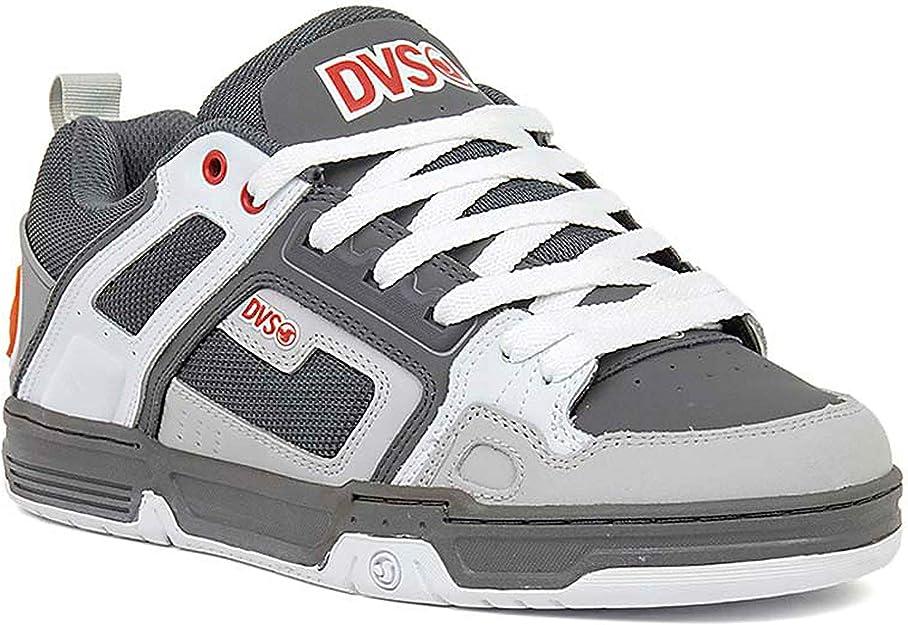 DVS Skateboard Chaussures Comanche noir//anthracite//rouge