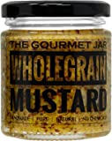 The Gourmet Jar Wholegrain Mustard, 190g
