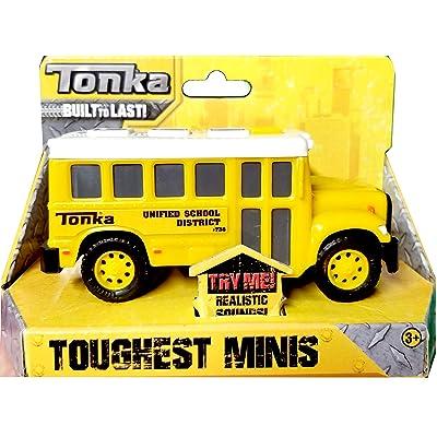 Tonka Toughest Minis School Bus: Toys & Games