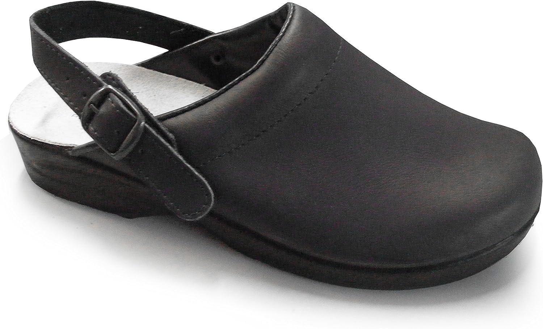 PLS Medical - Zapatos con correa de tobillo adultos unisex