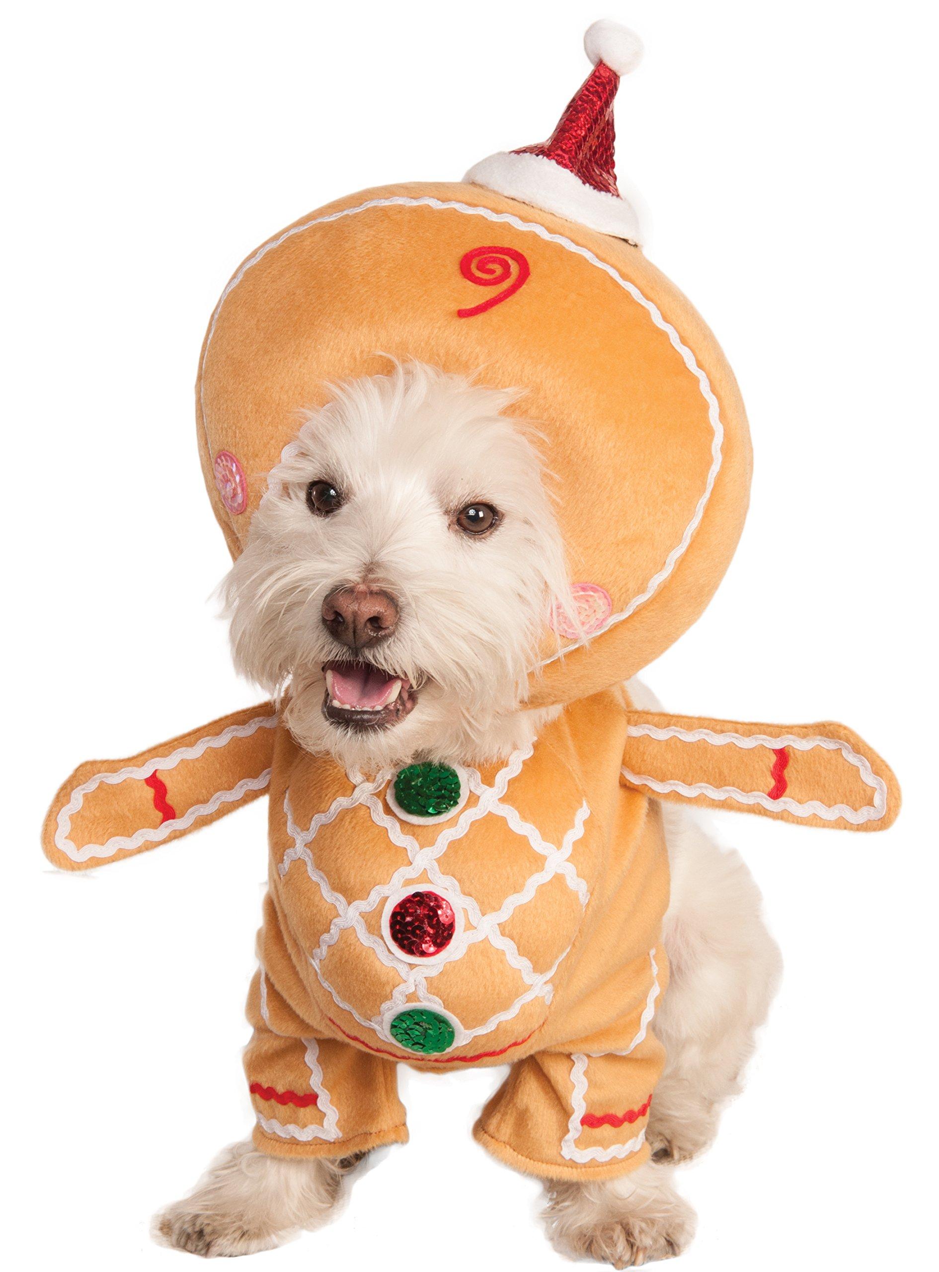 Rubie's Walking Gingerbread Man Pet Costume, Large