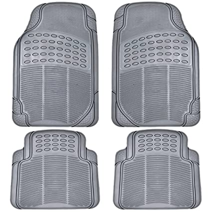Suv Floor Mats >> Amazon Com Bdk All Weather Rubber Floor Mats For Car Suv Truck