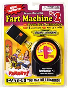 T.J. Wiseman Remote Controlled Fart Machine No. 2 Boom Box Technology