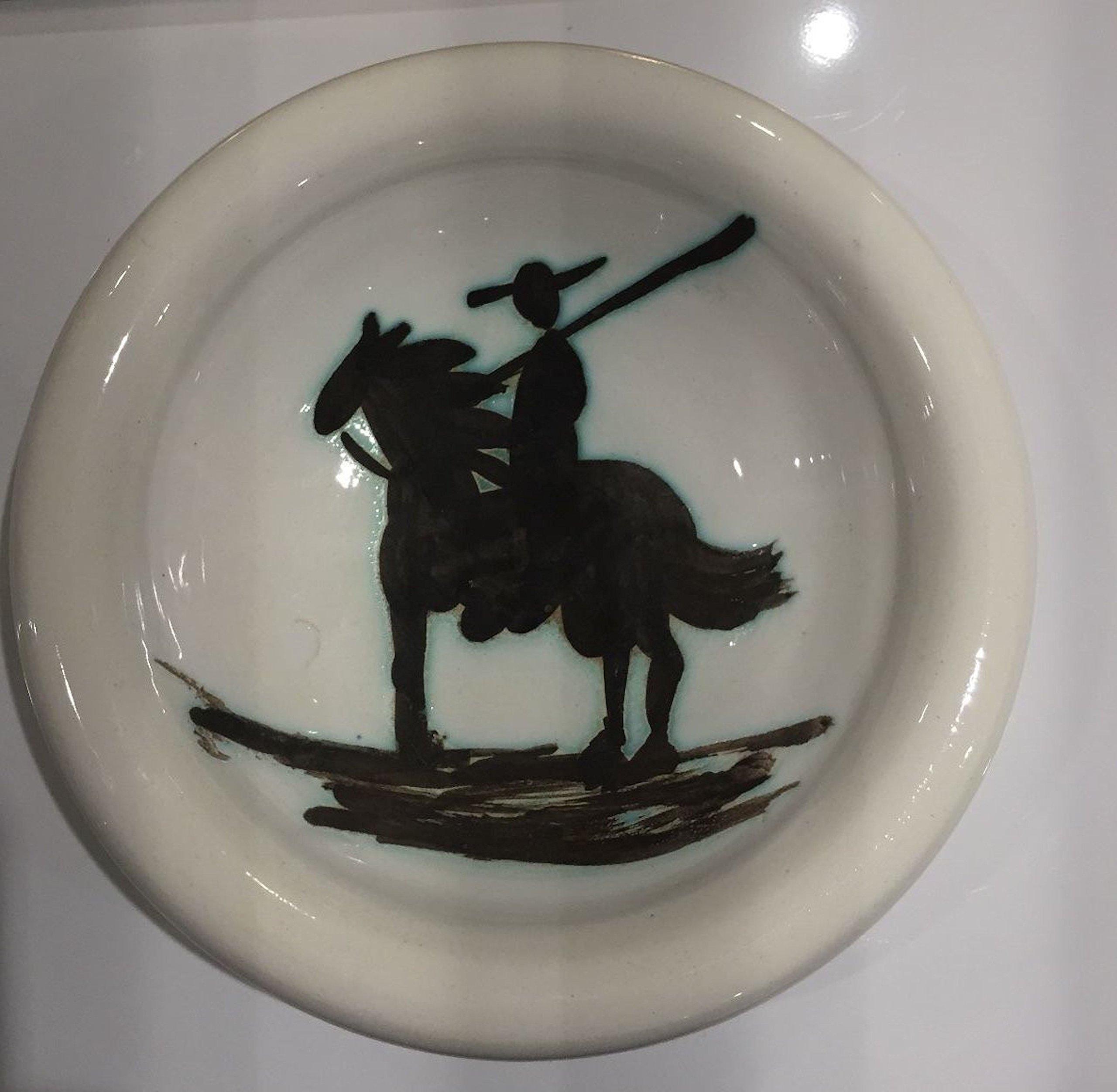 Ceramic Ashtray Picasso Madoura Ceramic