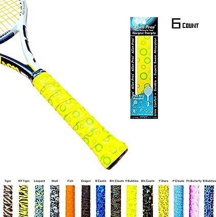 Alien Pros x-tac tenis Overgrip cinta perfecto para su raqueta de ...