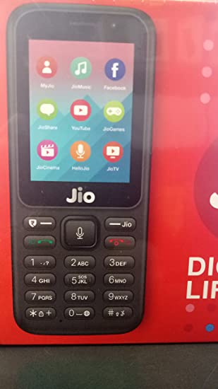 Jio phone JioFi Jio Mobile Digital Life F90M (Black, Medium)