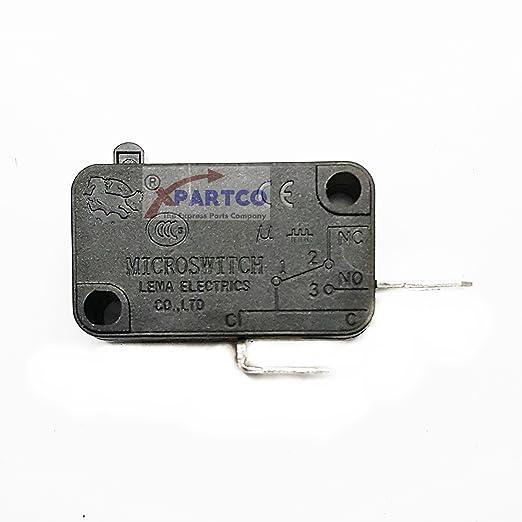 exp497) Interruptor de la puerta microondas secundaria ...