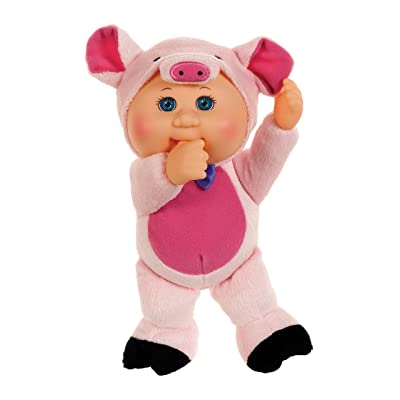 Cabbage Patch Kids Cuties Collection, Petunia The Pig Baby Doll: Toys & Games