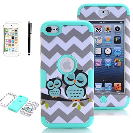 Screen Guard For iPod Touch 5 5th Gen IMPACT Verge HYBRID Case Skin Phone Cover
